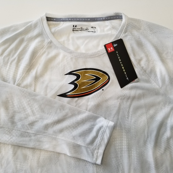 low priced 6942e 6fdba Under Armour Tops   Nwt Anaheim Ducks Long Sleeve Shirt ...